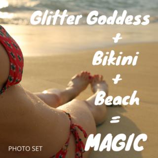 Glitter Goddess Bikini Photos