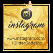 Gold Intagram Button