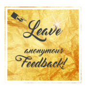 Gold Leave Anonymous Feedback