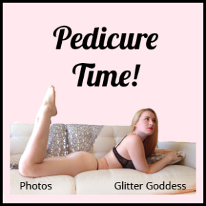 pedicure time photos Glitter Goddess