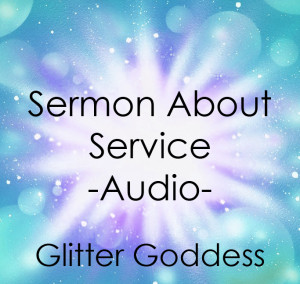 sermon about service