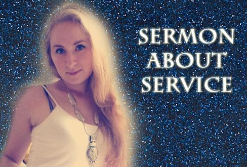 Sermon About Service Glitter Goddess