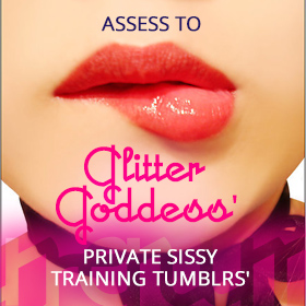 tumblr Sissy Training Glitter Goddess