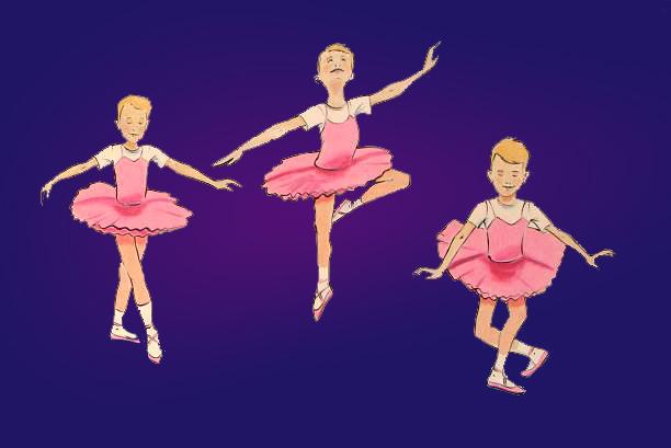 Ballerina Boy Glitter Goddess Sissy Confession