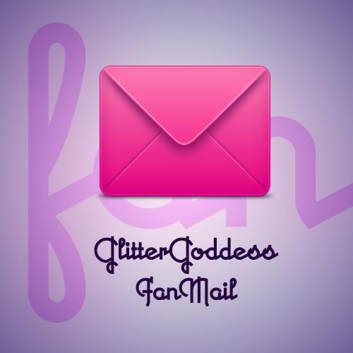fan mail love letter Glitter Goddess