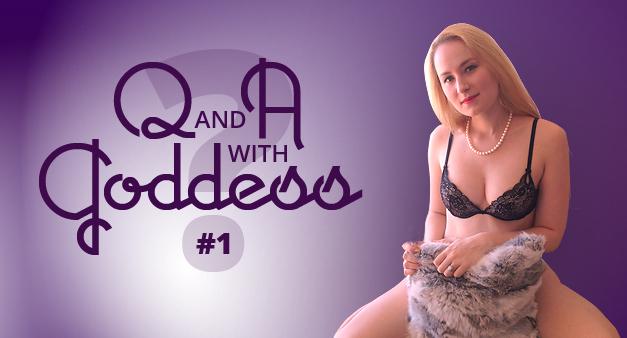 Q and A Glitter Goddess