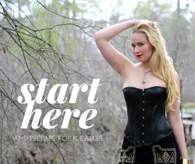 start here Glitter Goddess