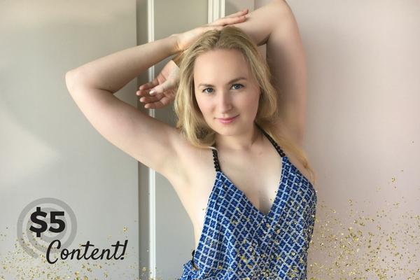 $5 Content Glitter Goddess