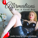 Affirmations Audio Loop with Glitter Goddess