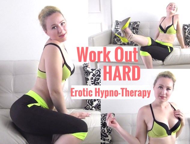 Work Out Hard video with Glitter Goddess
