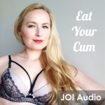 Eat Your Cum Glitter Goddess