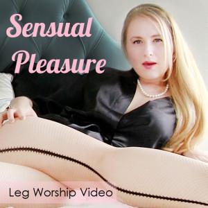 Senual Pleasure Leg Worship Cover