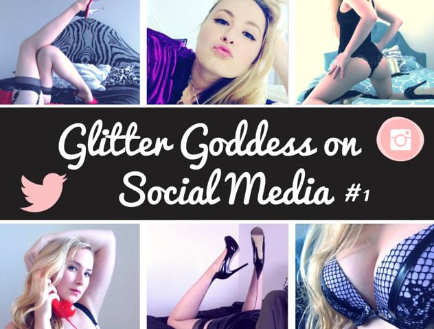 Social Media Glitter Goddess