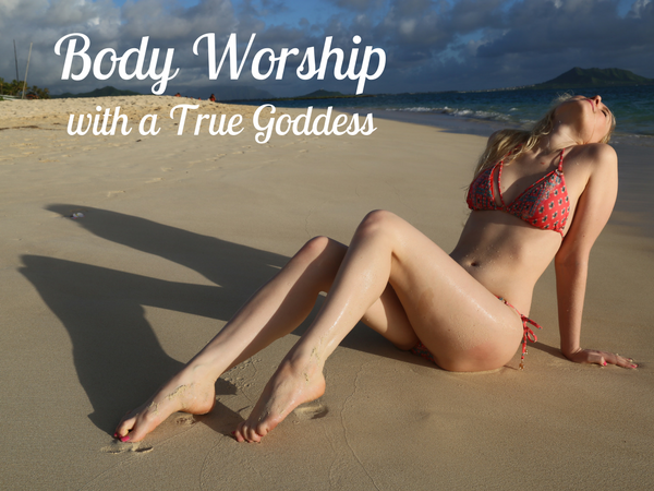 Body Worship with Glitter Goddess