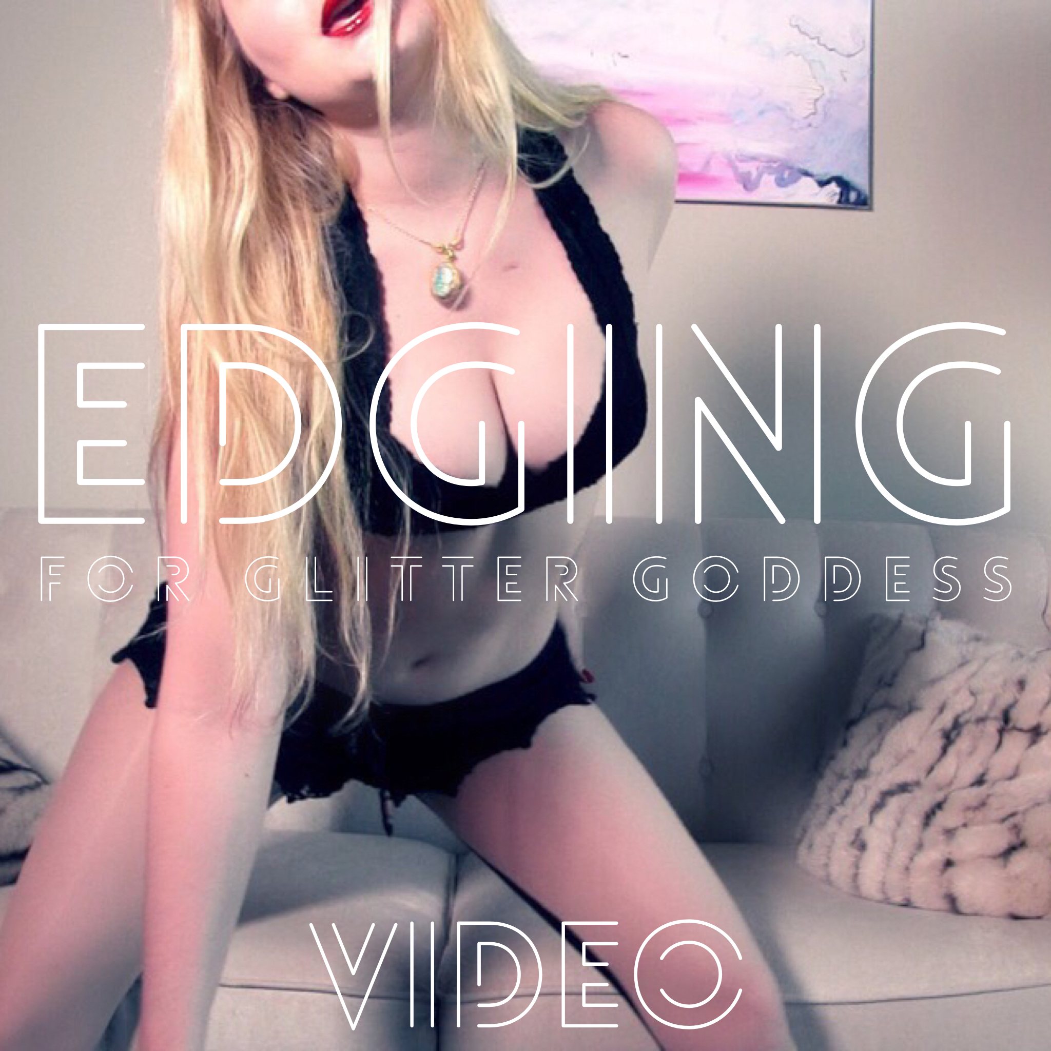 Edging with Glitter Goddess