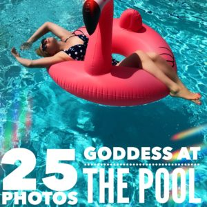 Goddess at the Pool – Photo Set