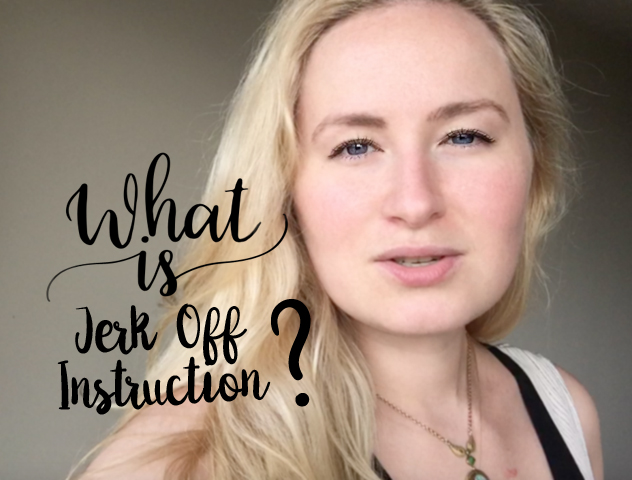 What is jerk off instruction Glitter Goddess