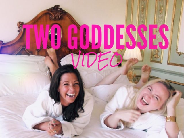 Two Goddesses Video Glitter Goddess