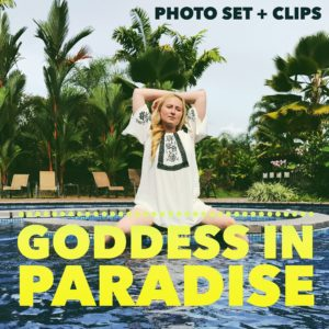 Goddess in Paradise – Photo Set + Mini Clips
