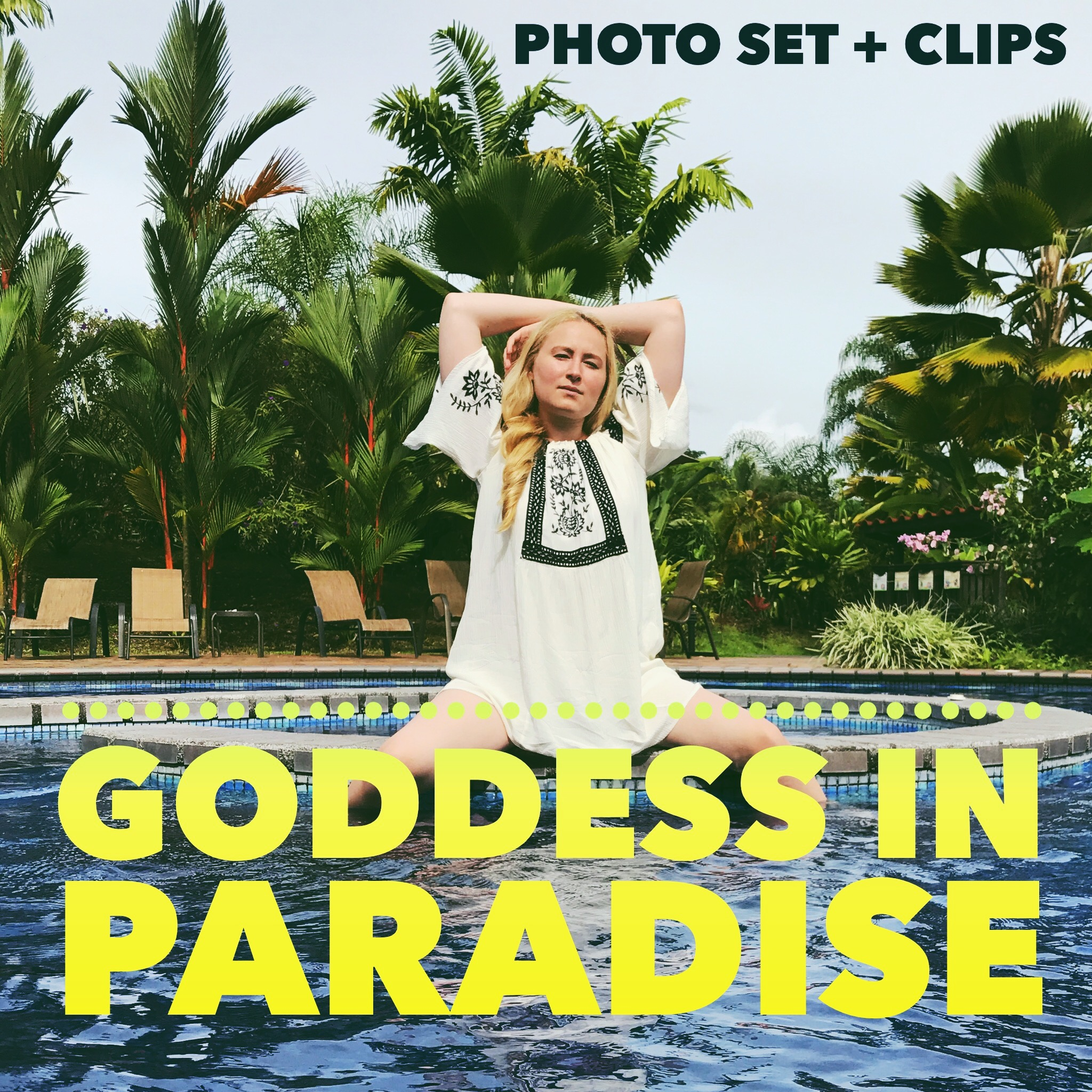 Goddess in Paradise Glitter Goddess