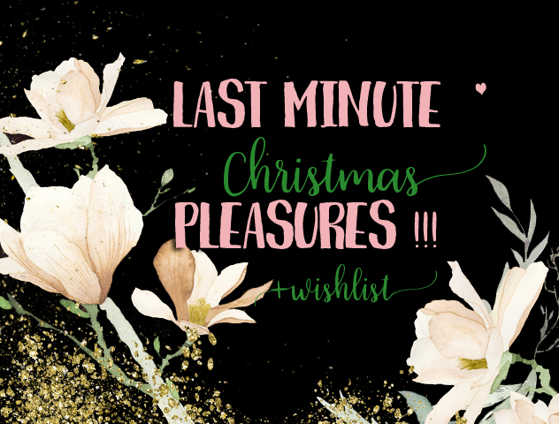 Last Minute Christmas Pleasures