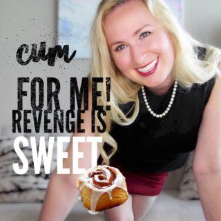 Cum For Me Revenge is Sweet Glitter Goddess video